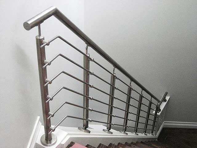 Stainless steel and glass hand rails in Lagos Nigeria by Rolabik Ventures Limited