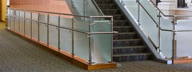 Rolabik ventures Lagos Nigeria glass and stainless steel rails